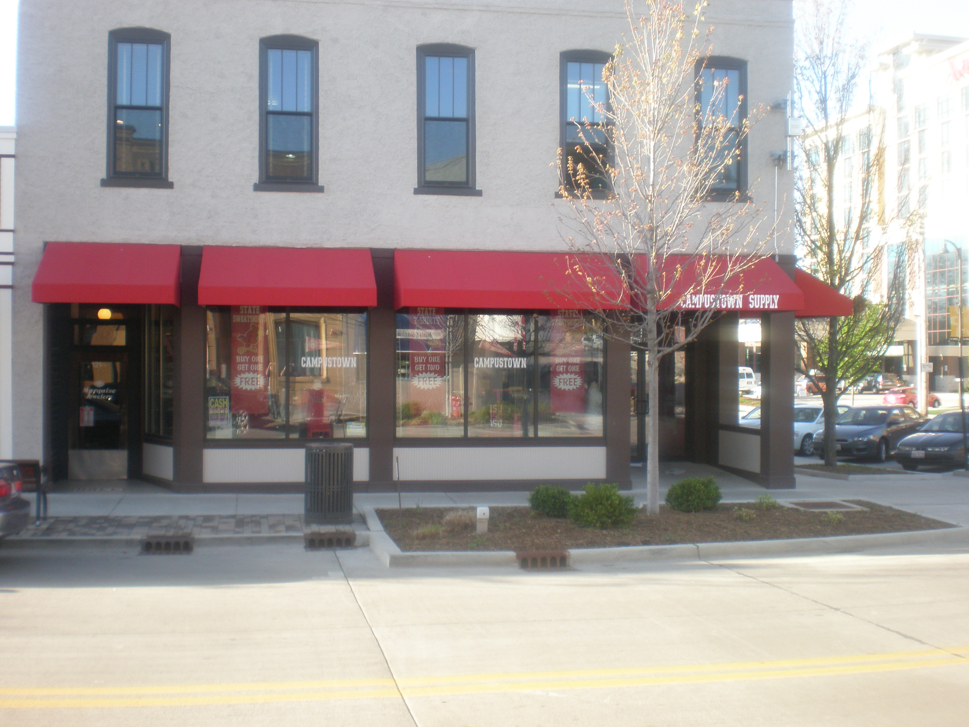 Commercial Storefront Windows & Doors | McLean County Glass & Mirror ...